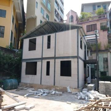 villa préfabriquée villa en acier léger maison modulaire maison préfabriquée