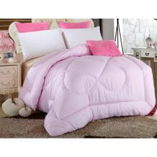 Edredón de algodón 100% color rosa