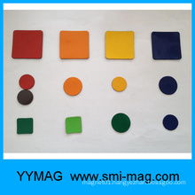 promotion colorful rubber magnet sticker