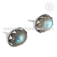 Glorious silver earring labradorite gemstone jewelry 925 sterling silver wholesale jewellery handmade