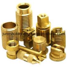 Componente de maquinaria de fundição de cobre