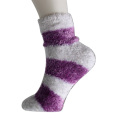 Feather Yarn Strips Chaussettes de plancher