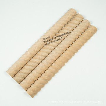 Decorative furniture Rope trim moulding