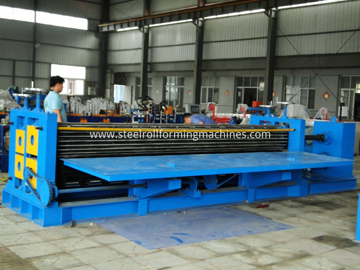 Galvaniz Steel Corrugating Tiles Roll Forming Machine