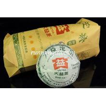 """2010 Dayi """"Jia Ji"""" Raw Pu Er Tuo (001 lote) Pu'er Chá, 100g / tuo"""
