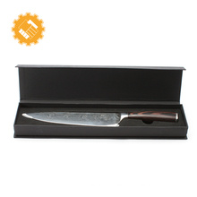 Hot factory price knife set damascus chef knife with gift box