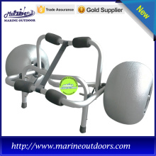 Wholesale Price for Kayak Anchor Aluminum Folding Canoe Beach Trolley Kayak Cart with 12 inches Balloon Wheel supply to French Southern Territories Importers
