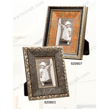 Wooden Antique Photo Frame Art with Gesso