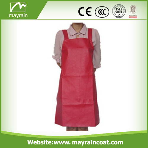 Yellow Adult PU Apron