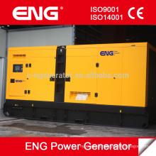 Generador silencioso doosan 400kva con motor original Corea Doosan P158LE