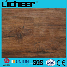Wpc impermeabilizan el suelo compuesto del suelo de la prueba Precio 5.5 el piso Wpc de Wpc 6inx48in el piso de madera de alta densidad Wpc