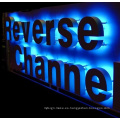 Letra de canal de acrílico de LED a prueba de agua a todo color popular de la muestra
