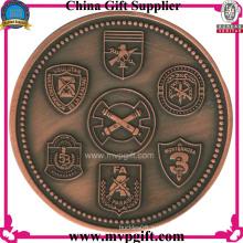 Металлическая монета с 2-мя бортовыми логотипами