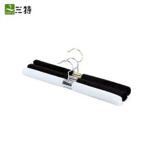 cintre droit blanc noir en acier inoxydable