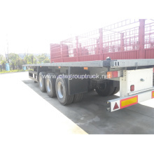 Customer's requirement Steel tri-axle semi trailer