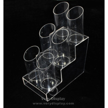 Customized clear acrylic dispenser stand