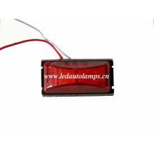 Luz de marcador lateral llevada impermeable del 100% para el remolque del carro, luz de la separación