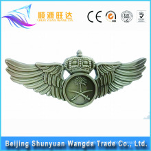 Badge Makers Custom Metal Pilot Wings Pin Badge