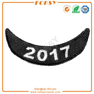 Free sample for for Embroidered Patches 2017 Badge embroidery patch iron on supply to Serbia Exporter