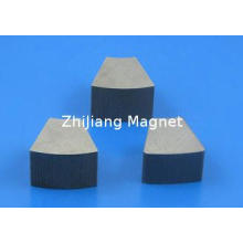 Cast Alnico Magnet Alnico 8 Fan Shape Magnets for Magnetic