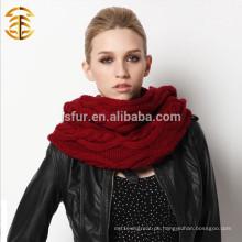 Top Qualität gestrickte Frauen Infinity Schal