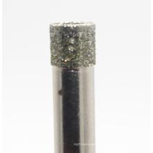Forets rotatifs de noyau de diamant pour la tuile et la pierre en céramique de verre de porcelaine