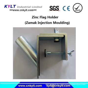 Aluminum Die Casting Clamp Outrigger Flagpole Bracket