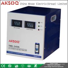 Großhandel 10kw 220V Einphasen-Kupfer Coil Power Line Vollständige automatische Spannungsstabilisator für Haus Made in Wenzhou Yueqing