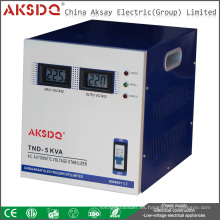 AVR SVC-5000VA monofásico de alta precisión automática AC Home Voltage Estabilizador Regulatorform Yueqing Factory