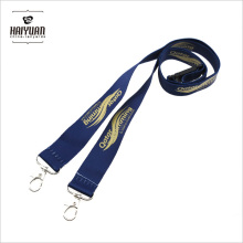 Heat Transfer Smooth Polyester Lanyard with Silk Screen Printing