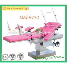 MSLET12M Gynaecology delivery bed Electric Delivery Bed in hospital