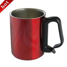 Isolamento de vácuo de aço inoxidável copo de café