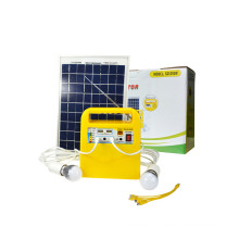 Solar Lighting System with Radio and USB Output for Mobile