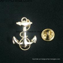 A fábrica Mpb03 faz emblemas do Pin de metal da forma do coração / logotipo feito sob encomenda / projeto livre