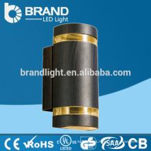 IP65 alta calidad 2X5W arriba abajo de la lámpara de pared al aire libre del LED, CE RoHS