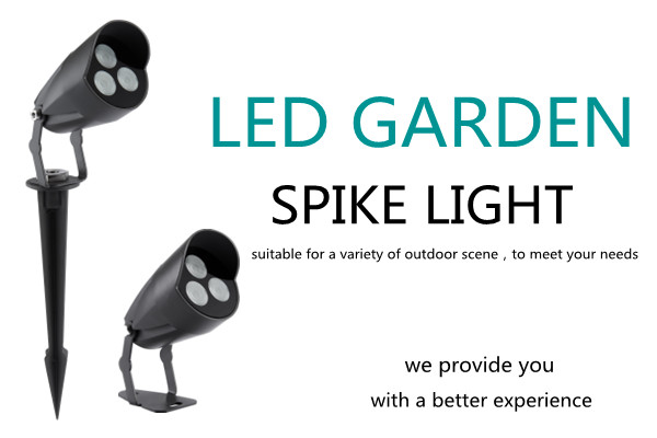 Outdoor LED spotlight for courtyard