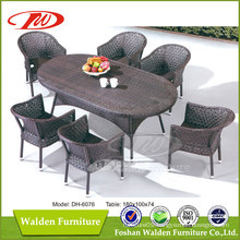 Wicker Furniture, Garden Table (DH-6076)
