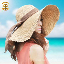 Widen Large Brim Cap Summer Fashion Women Beach Straw Hat