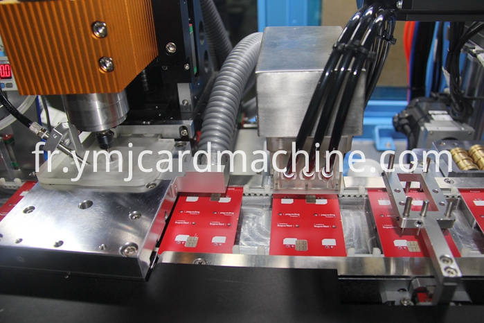 Multiple Chips Milling and Embedding Machine