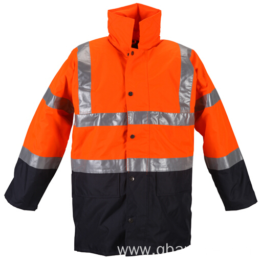 Waterproof fabric for jacket reflective safety jacket