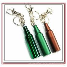 Metallflasche geformt Schlüsselanhänger USB Flash Drive (EP075)