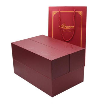 Kustom Double Side Closure Wine Packaging Paper Box