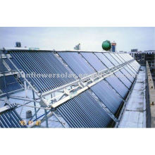 Heat Pipe pressurized solar water heater system for big projects