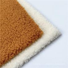 Новые популярные модные ткани для вязания из мохера, окрашенные полиэстером