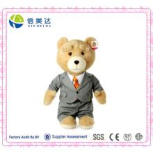 Ted Teddy Bear Wearing Suit Jouet en peluche