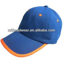 Gorra de béisbol simple de microfibra