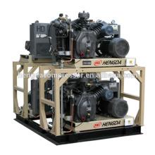 Compresor de aire de pistón de bajo ruido 300Bar fabricado en China