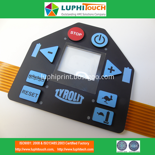 Rubber Keypad FPC Circuit Membrane Switch