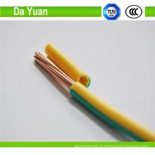 Câble de cuivre de Rhw 450V / 750V 16mm pour la construction de maison