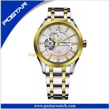 Heiße neue Trend Skeleton Uhr automatische mechanische Uhr